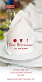 Dine Restaurant Flyer